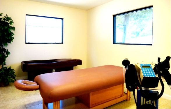 Jacksonville Chiropractor  treatment room
